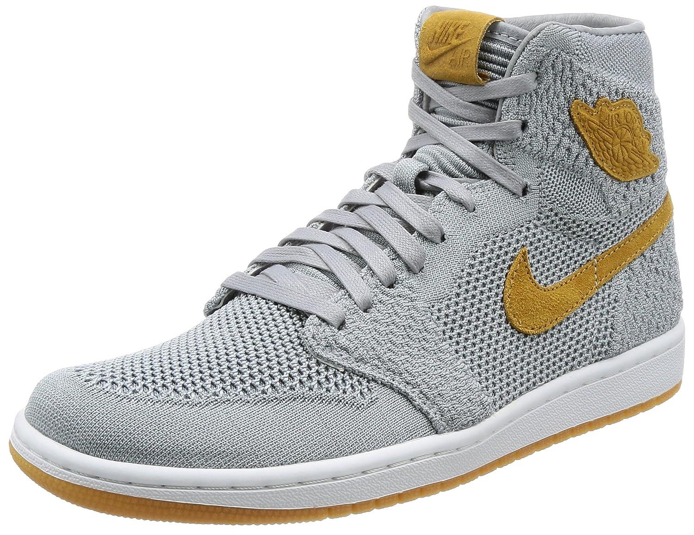 reputable site b7ede c1dbc Nike AIR Jordan 1 Retro HI Flyknit  Flyknit  - 919704-025 - Size 10.5 -   Amazon.co.uk  Shoes   Bags