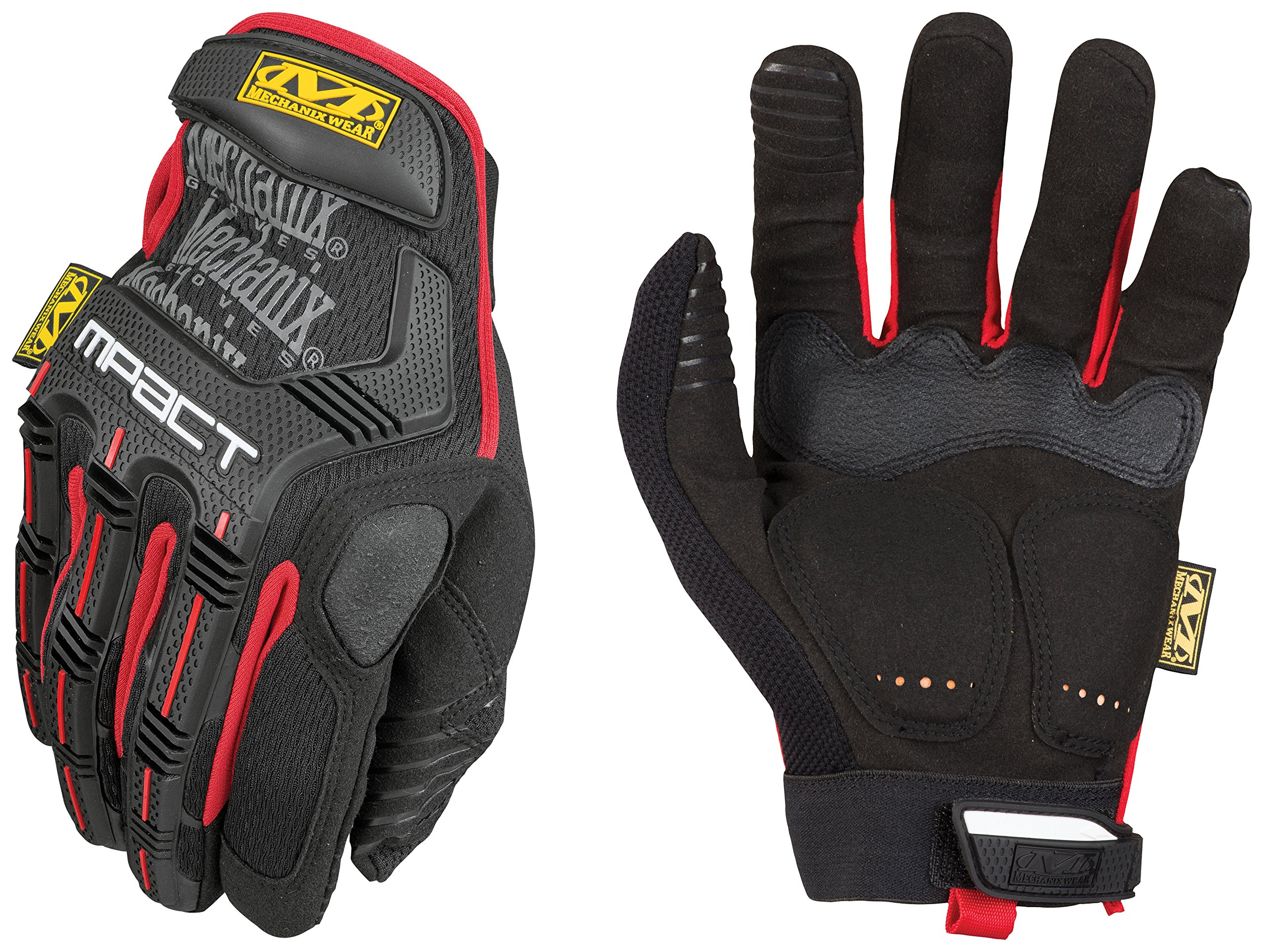 Mechanix Wear - M-Pact Gloves (Medium, Black/Red)