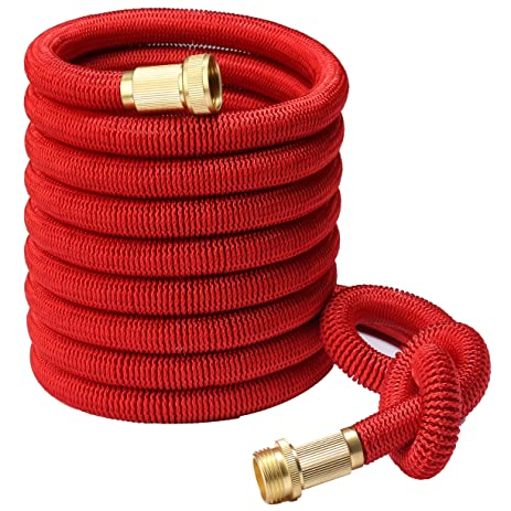 Greenbest 2016 NEW 50u0027 Expanding Garden Hose, Ultimate, Solid Brass  Connector Fittings,