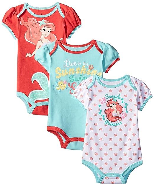 Amazon.com: Disney para bebé niña Body de la Sirenita Ariel ...