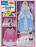 Melissa & Doug Disney Cinderella Magnetic Dress-Up Wooden Doll Pretend Play Set (30+pcs)