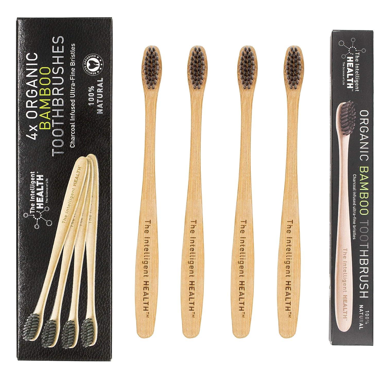 Cepillo de dientes de bambú biodegradable natural respetuoso ...