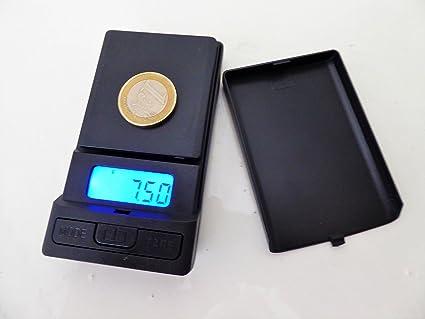 Markenlos Precisión Portátil Báscula de precisión – Báscula Joyero de Oro – Báscula Digital