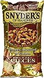Snyder's of Hanover, Honey Mustard & Onion Pretzel Pieces, 12oz Bag (Pack of 3)