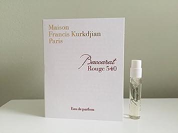Amazoncom Maison Francis Kurkdjian Baccarat Rouge 540 Eau De
