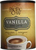 Pacific Chai Vanilla Instant Powdered Chai mix, 48oz canister