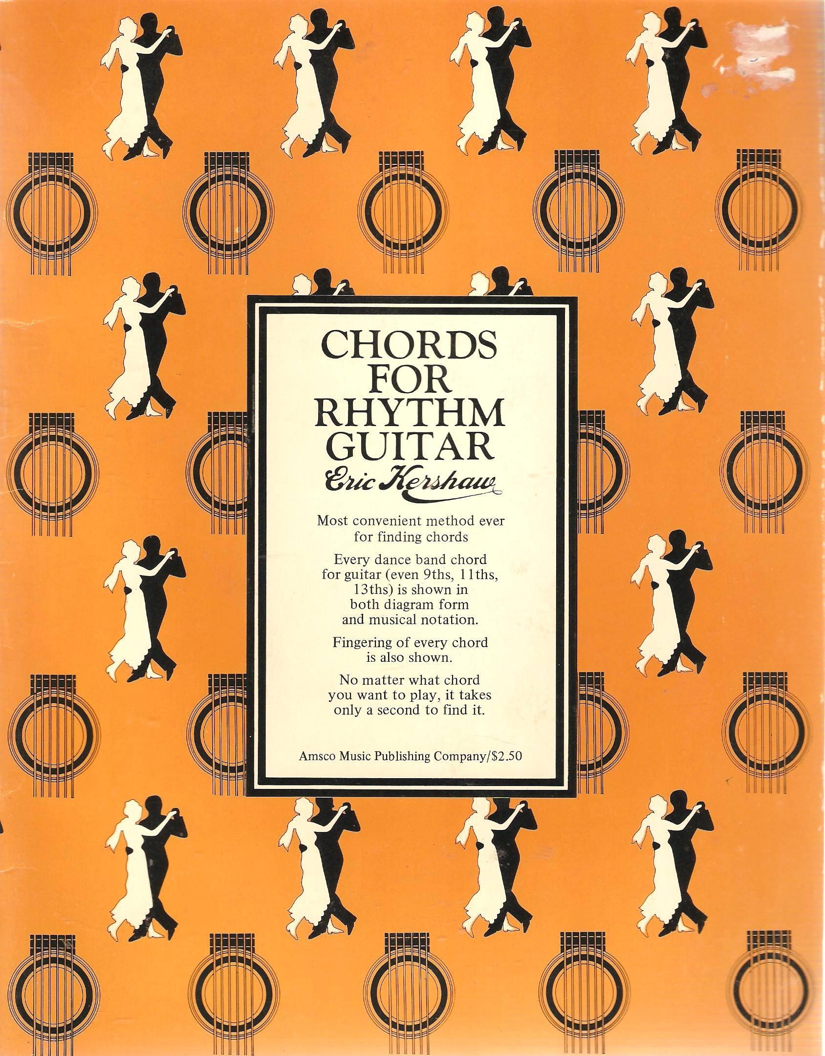 Chords For Rhythm Guitar Eric Kershaw 9780825626807 Amazon Books