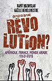 Qu'est-ce qu'une révolution ? : Amérique, France, Monde Arabe (1763-2015)