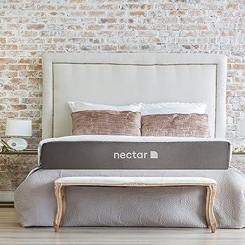 Nectar Gel Memory Foam Mattress Queen + 2 Free Pillows