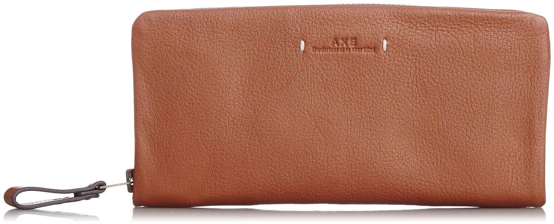[アックス] AXE カフカ 長財布 ラウンドファスナータイプ B00O0KCZT0 キャメル キャメル -