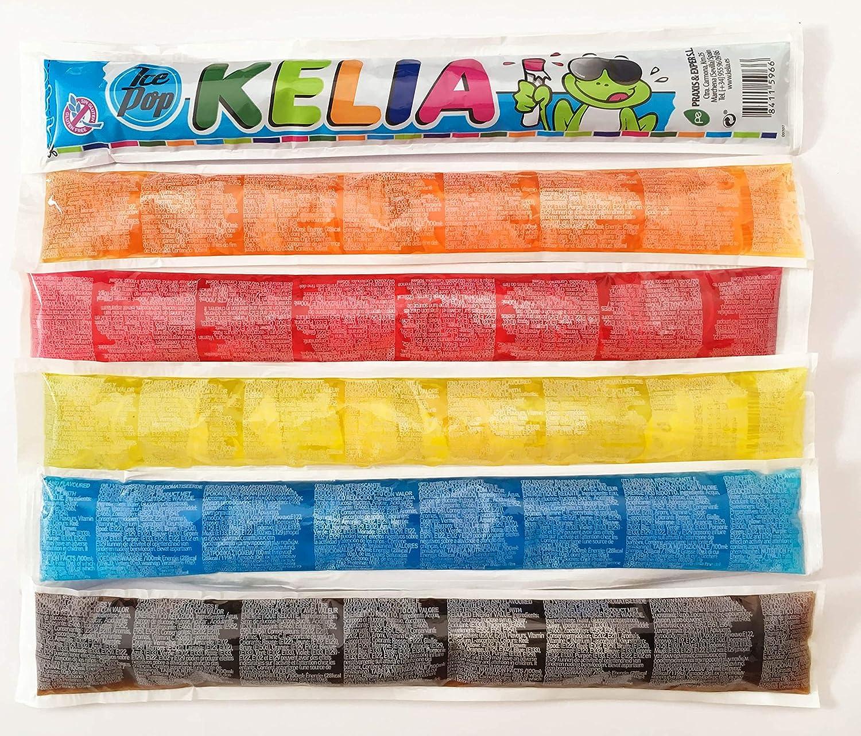 Kelia Polos para congelar 105 ml sabores surtidos [Pack 30 ud x ...