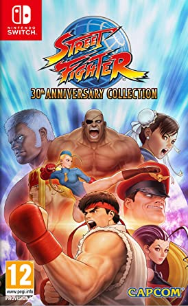 Street Fighter 30th Anniversary + Konix Bifrost - Teclado semi mecánico, color negro: Amazon.es: Videojuegos