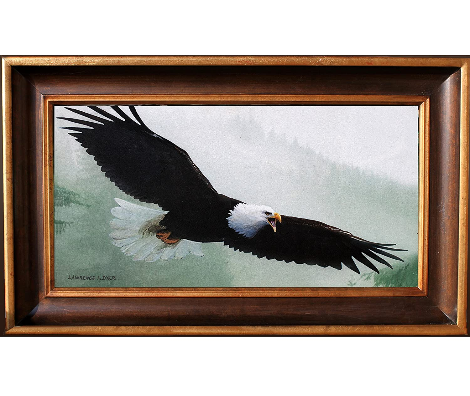 Amazon Com Bald Eagle Giclee Art Print Canvas From Original