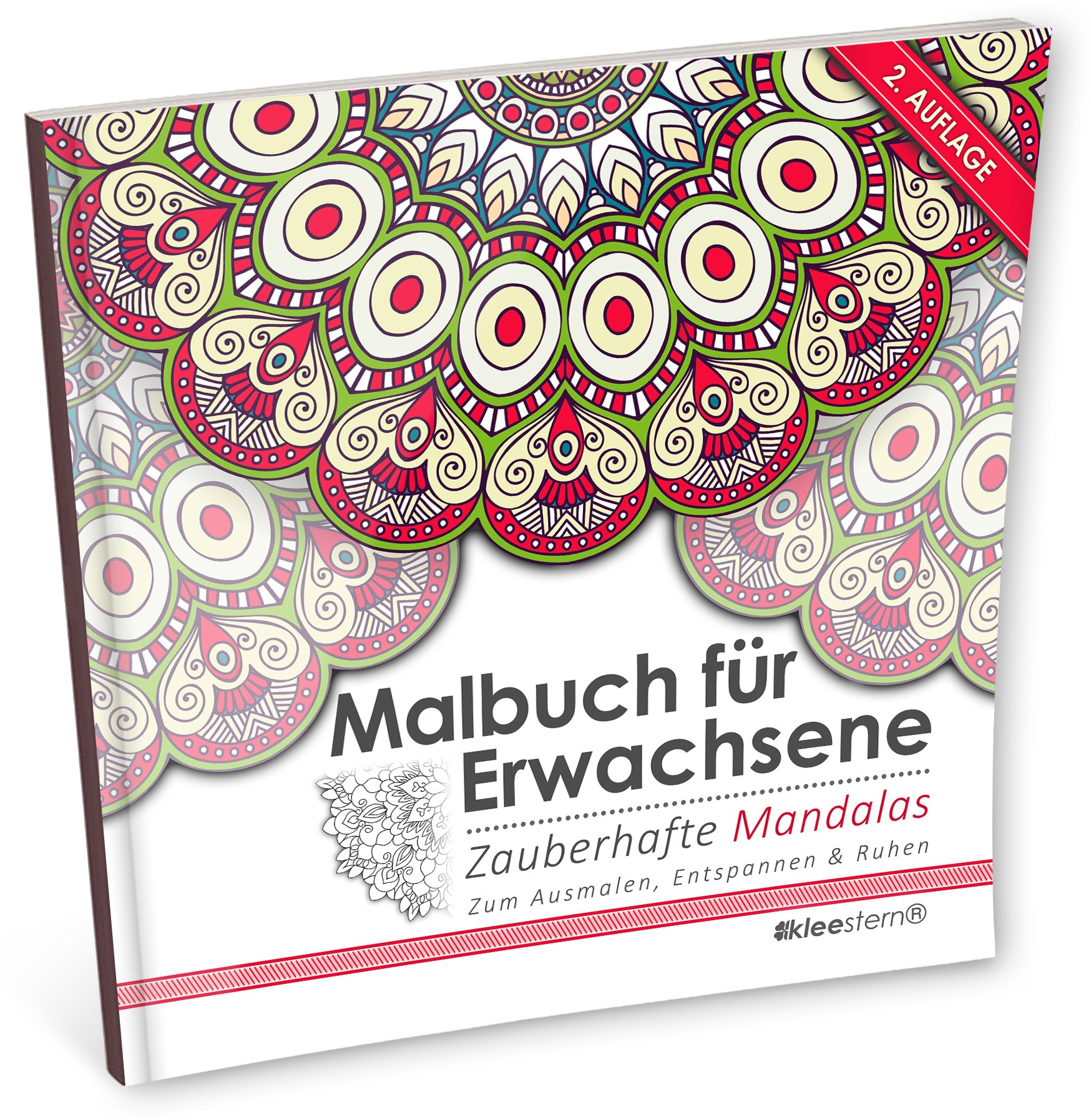 Malbuch für Erwachsene: Zauberhafte Mandalas zum Ausmalen ...