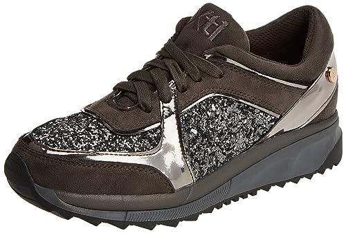 XTI 047416, Zapatillas para Mujer, Gris (Gris), 36 EU