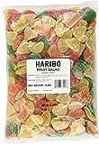 Haribo Gummi Candy, Fruit Salad, 5 Pound