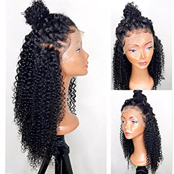Rishang Hair 360 Lace Frontal Wig 180% Density Pre-Plucked Hairline 360  Lace Front 34e371f2e