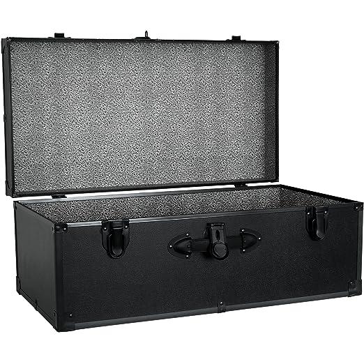 Foot Locker Storage Chest Custom Amazon Seward Trunk Barracks Footlocker Trunk Black 60inch