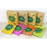 Tota 100% Natural Organic Rangoli Holi Color Powder Gulal Gulaal - Herbal, Skin-safe & Non-Toxic (Pack of 4 Assorted Colours of 40g each)
