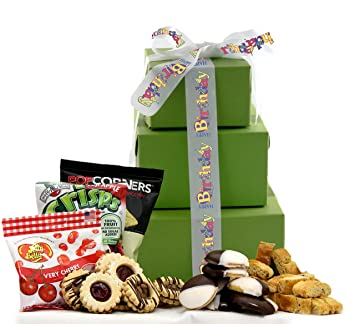 Amazon large its your special day happy birthday gluten happy birthday gluten free gift tower negle Choice Image