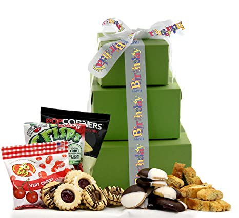 GlutenFreePalace Large Its Your Special Day Happy Birthday Gift Tower 2 Pound Amazonca Grocery