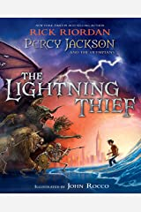 Percy Jackson and the Olympians: The Lightning Thief Illustrated Edition Kindle Edition