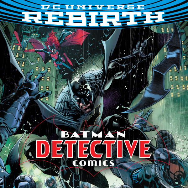 Detective Comics (2016-) (Collections) (8 Book Series)