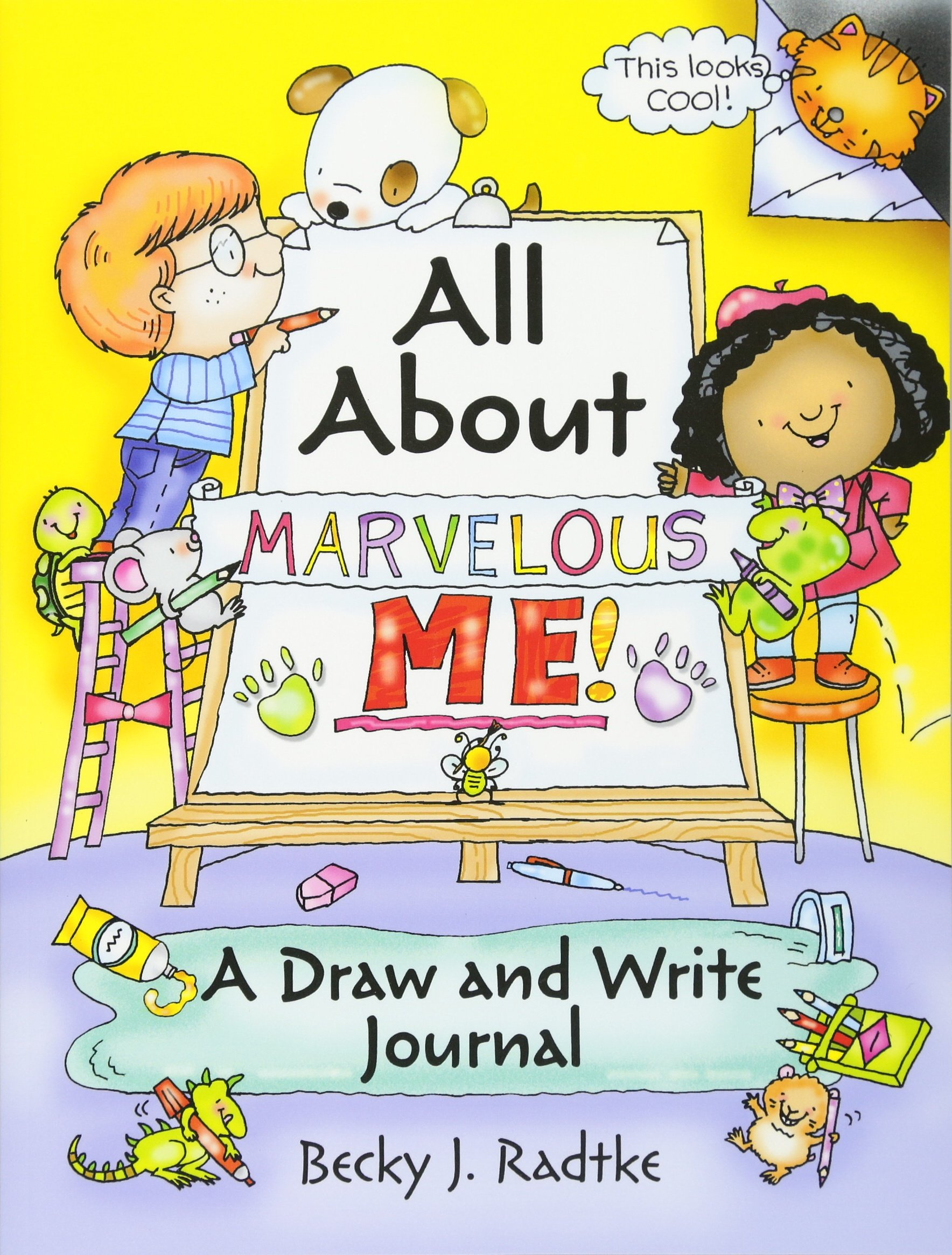 All About Marvelous Me Journal product image