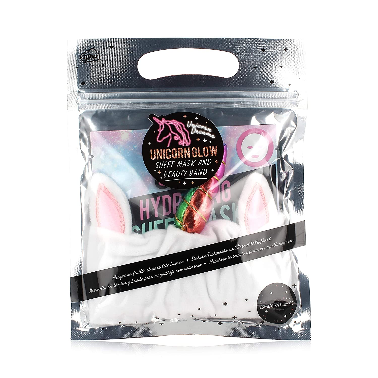 Unicorn Dreams Unicorn - Face Mask and Headband NPW NPW69174