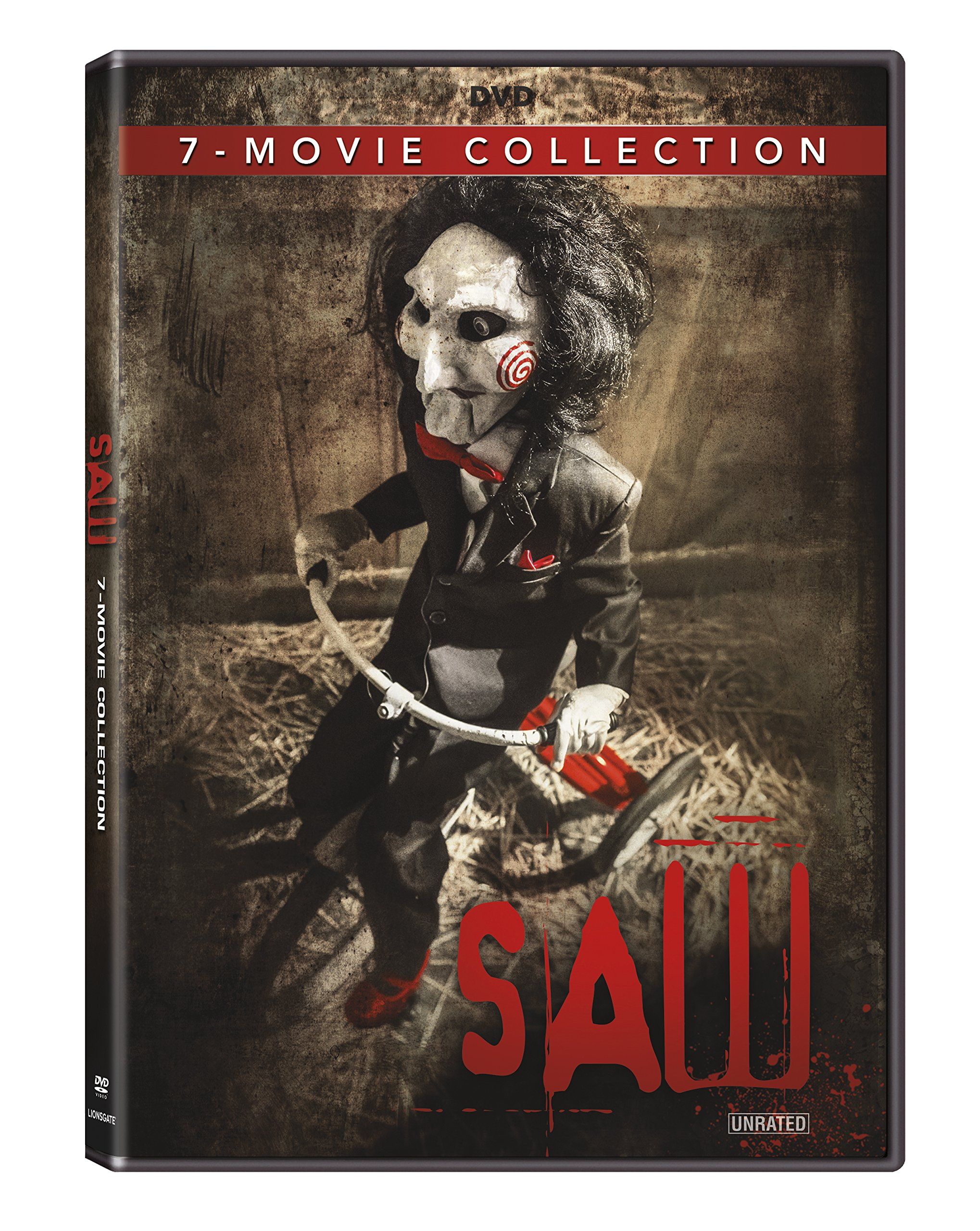 DVD : Saw: The Complete Movie Collection (Boxed Set, Widescreen, Dolby, AC-3, )