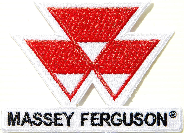 Parche bordado para planchar o coser, con el logotipo de Massey ...