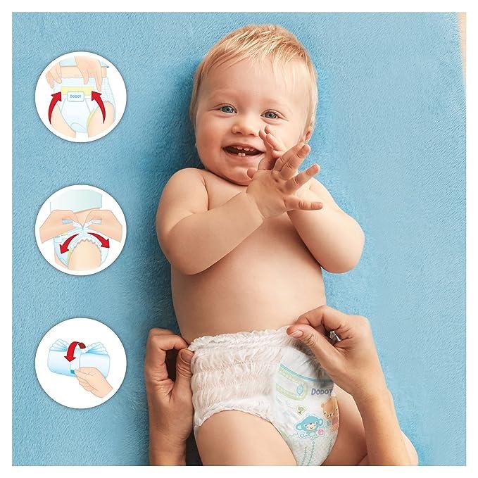 Dodot Pants Extra Pañales, Talla 4 (9-15 kg) - 2 x 40 Pañales: Amazon.es: Salud y cuidado personal