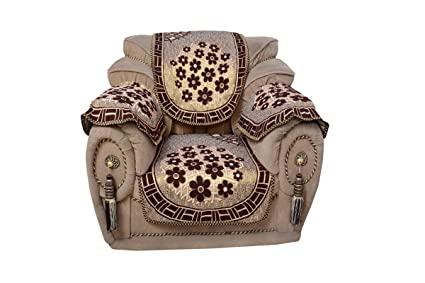 Style Your Home Floral 12 Piece Cotton Sofa and Chair Cover Set - Multicolour