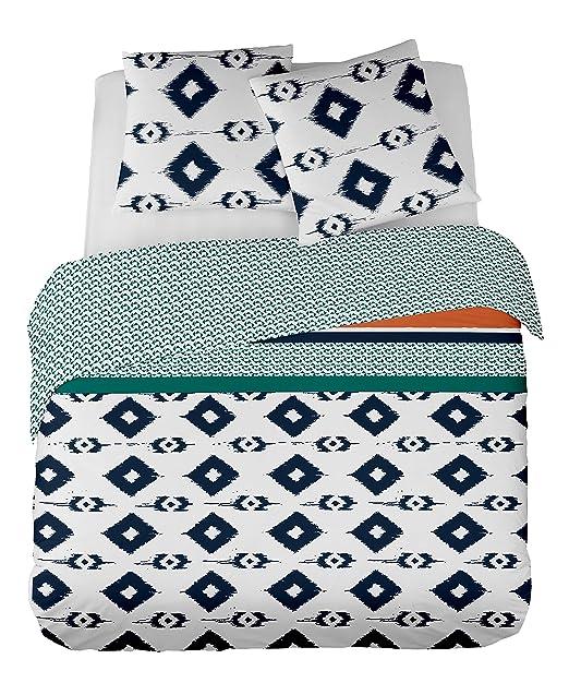 SUAVE - Juego de cama para 2 personas : Funda Nórdica ...