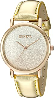 Geneva FMDG014 18mm Alloy Gold Watch Strap
