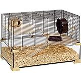 Ferplast Karat 80 Cage en Verre pour Hamsters et Souris