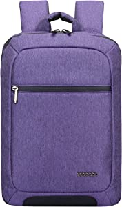 """Cocoon Innovations MCP3401PR Slim 15"""" Backpack with Built-in Grid-IT! Accessory Organizer (Purple)"""