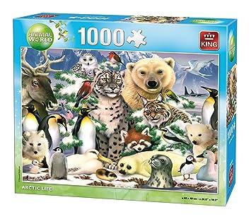 King Animal World Artic 1000 pcs Puzzle - Rompecabezas (Puzzle ...