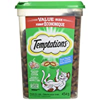 Whiskas Temptations Seafood Medley, 454g Tub