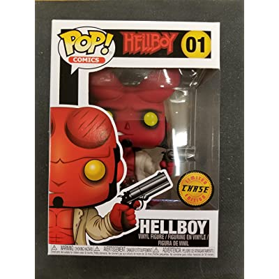 Comics - Hellboy Limited Edition Chase Variant Vinyl Figure with Horns: Toys & Games