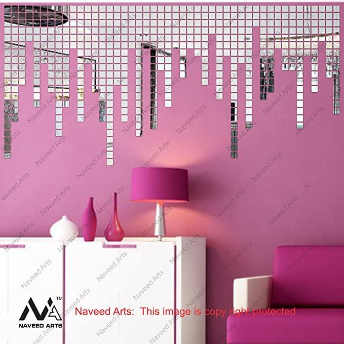Obike Silver Finish Purple Wall Decor Wall Art Cr