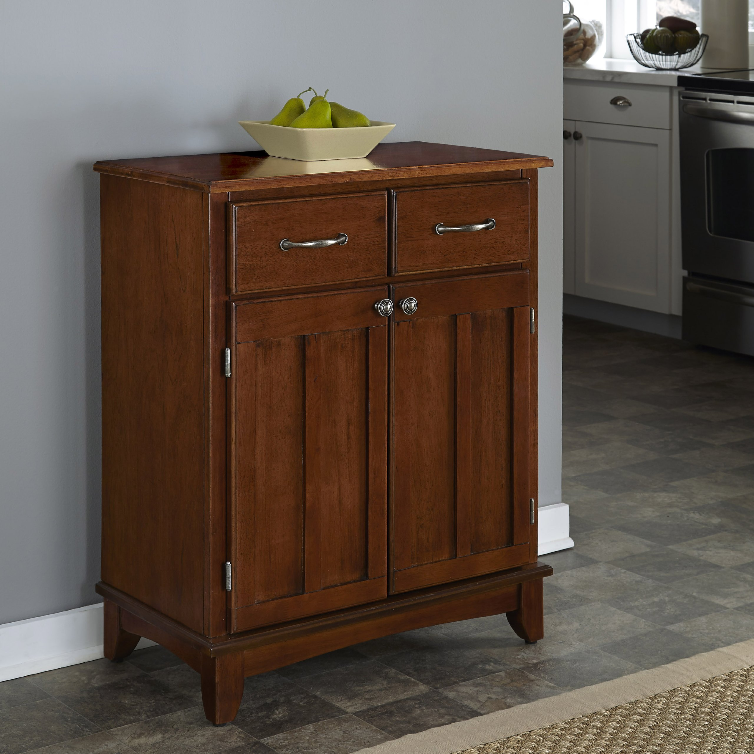 Home Styles 5001-0072 5001 Series with Medium Cherry Wood Top Buffet, Medium Cherry, 29-1/4-Inch by Home Styles (Image #2)