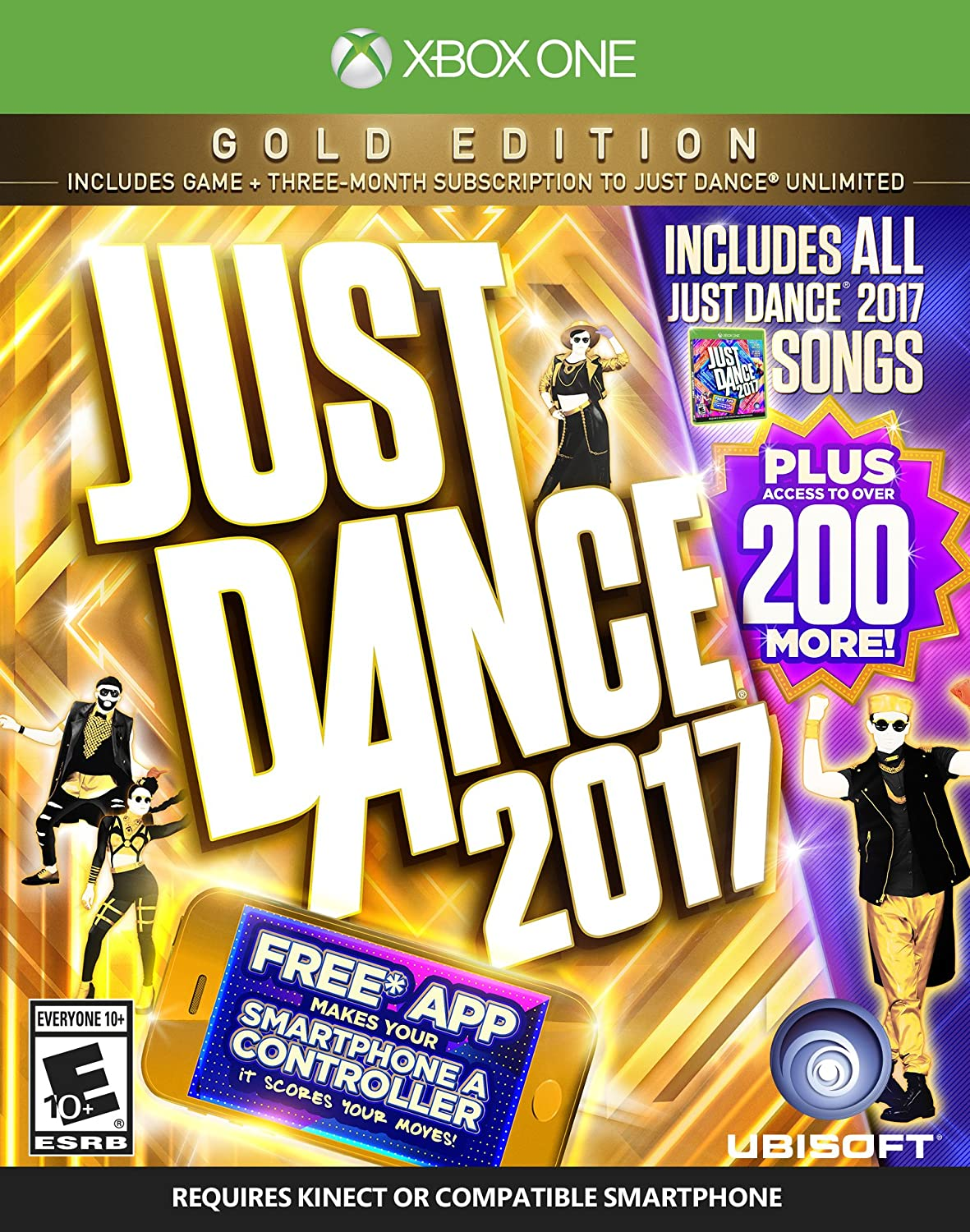 Amazon com: Just Dance 2017 Gold Edition (Includes Just