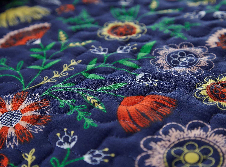 Inc The Secret Meadow Collection Quilt 3 Piece Set Southshore Fine Living King//California King Blue Southshore Fine Linens MF-QLT-SECMDW-BLU-K