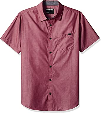 XiaoTianXinMen XTX Men Button Up Stripe Summer 3D Print Short Sleeve Hip Hop Dress Work Shirt