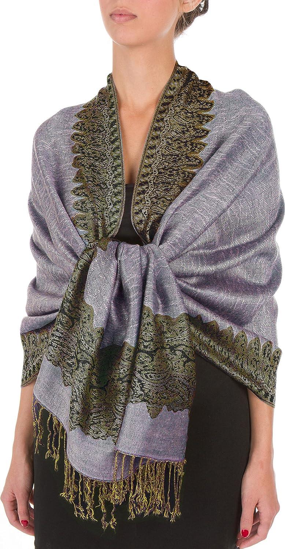 100/% viscose uni pashmina écharpe étole wrap châle noir de haute qualité femme nouveau
