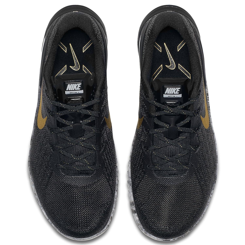 Nike Womens Metcon 3 Training Shoes B07B8J7CV6 Grey 11 D(M) US|Black/Metallic Gold-wolf Grey B07B8J7CV6 79e947
