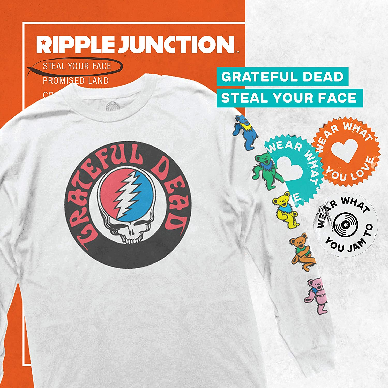 Authentic Grateful Dead 1987 It's Worth the Trip Concert Tour Soft Adult T-shirt