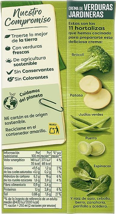 Knorr Rusticas Puré de Verduras Jardineras, 0.5L