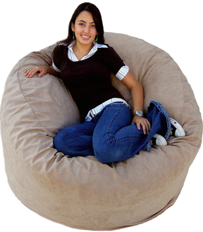 Amazon Cozy Sack 4 Feet Bean Bag Chair Buckskin